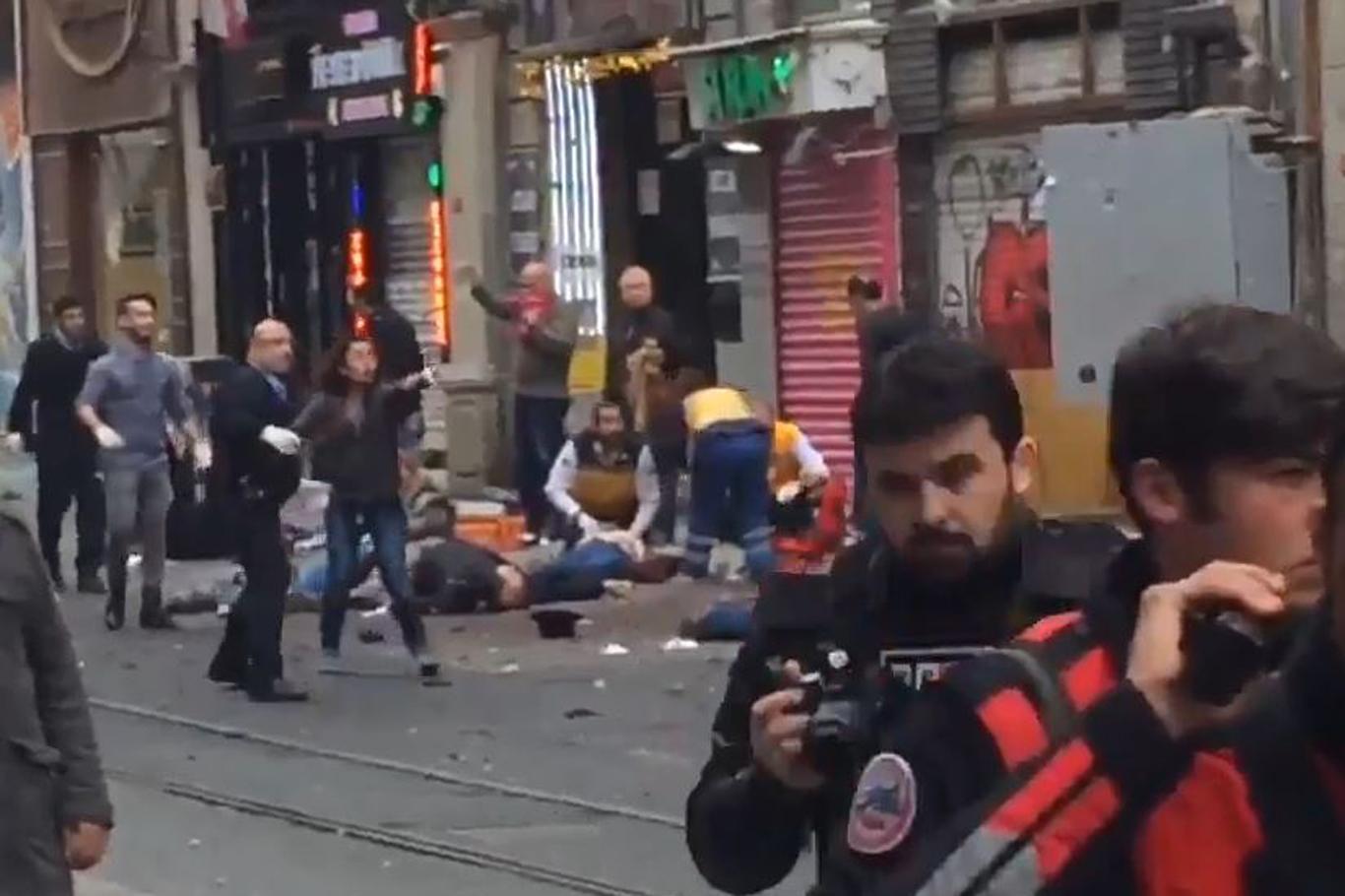 İstiklal Caddesi'nde patlama: 5 ölü 20 yaralı
