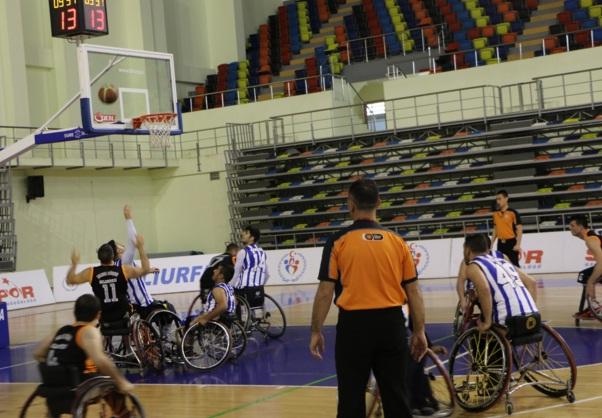 Şanlıurfalı Engelli Basketçiler adım adım süper lige