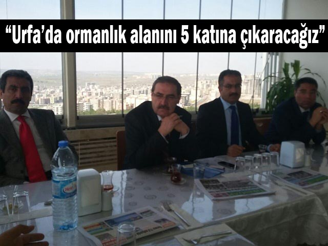 Orman Bölge müdürü Ahmet Ünver Basınla bir araya geldi! Ahmet Üniver kimdir?