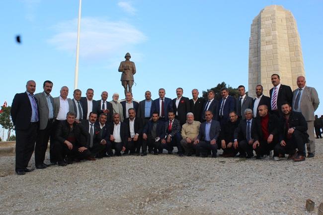 Urfa'daki Muhtarların Çanakkale çıkarması