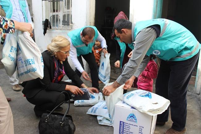 Eyyübiye'de umut masası çocuk kütüphanesi için hrekete geçti