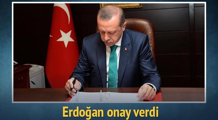 Cumhurbaşkanı Erdoğan 14 kanunu onaylayarak Başbakanlığa gönderdi