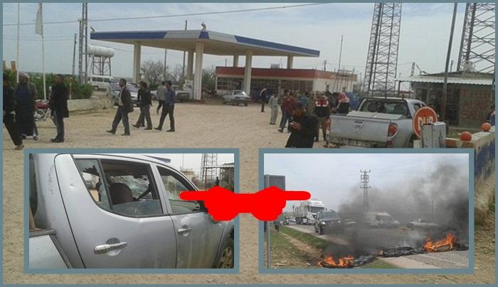 Akçakale'de köylülerin Elektrik kesintisi isyanı