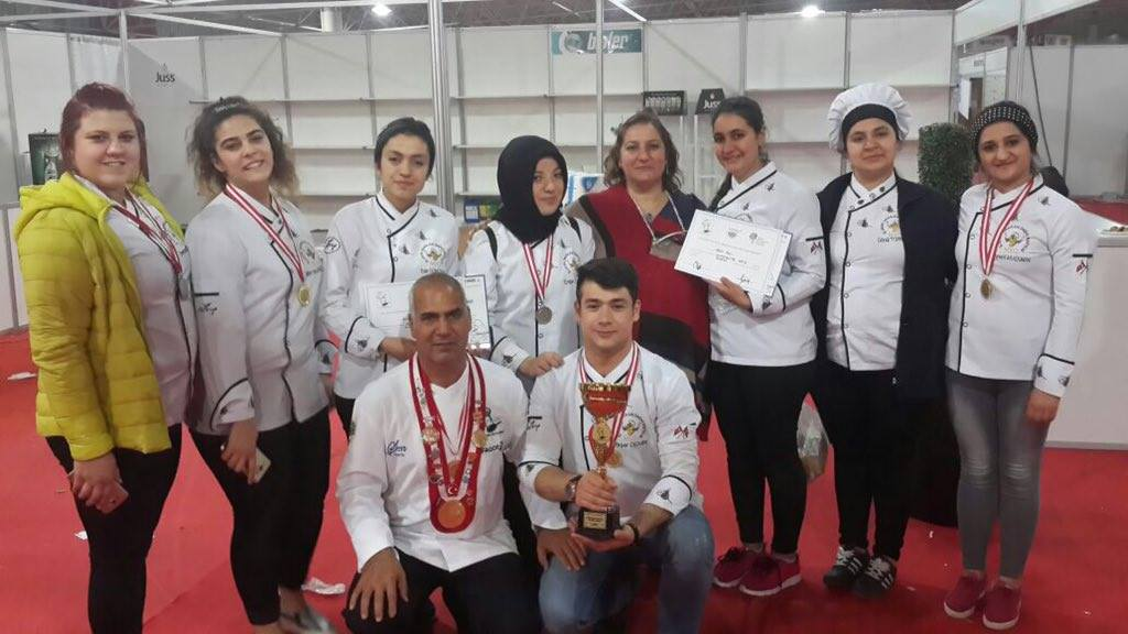 Harran Üniversitesi Ulusal Yemek Yarışmasında Ödülleri Sıraladı