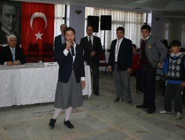 Okullarda demokrasi meclisleri seçimi yapıldı