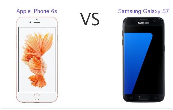 iPhone 6s mı, Samsung Galaxy S7 mı? iPhone 6s Galaxy S7 karşılaştırması