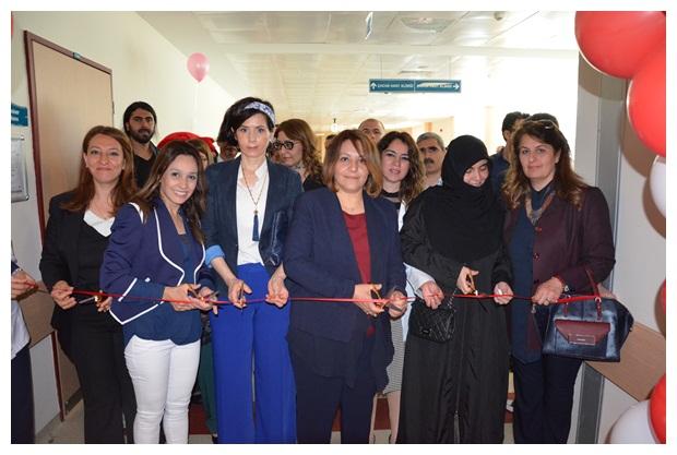 Harran Tıp Fakültesi Hastanesi çocuk cerrahi servisi yeniden tasarlandı