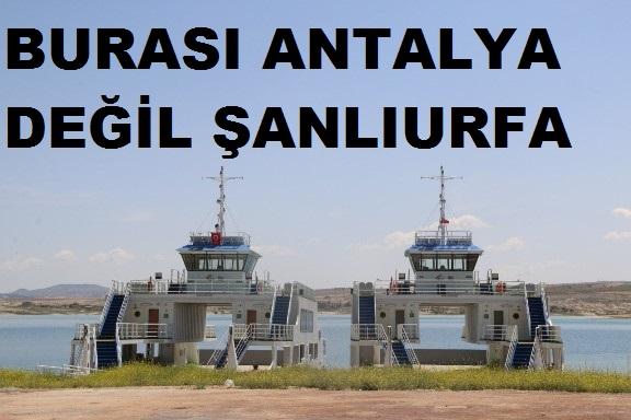 Şanlıurfa feribot yolculuğuna hazırlanıyor VİDEO