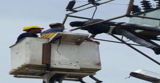 Trafoya çıkan görevli elektrik akımına kapılarak hayatını kaybetti