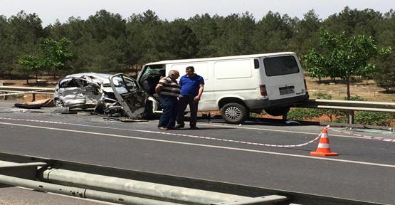 Urfa'da trafik kazası: 1 ölü 4 yaralı