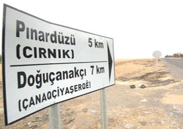 Kürtçr köy isimlerine soruşturma