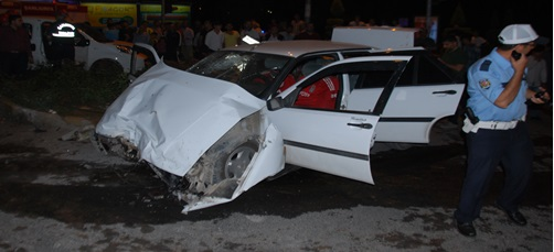 Karaköprü'de trafik kazası: 6 yaralı