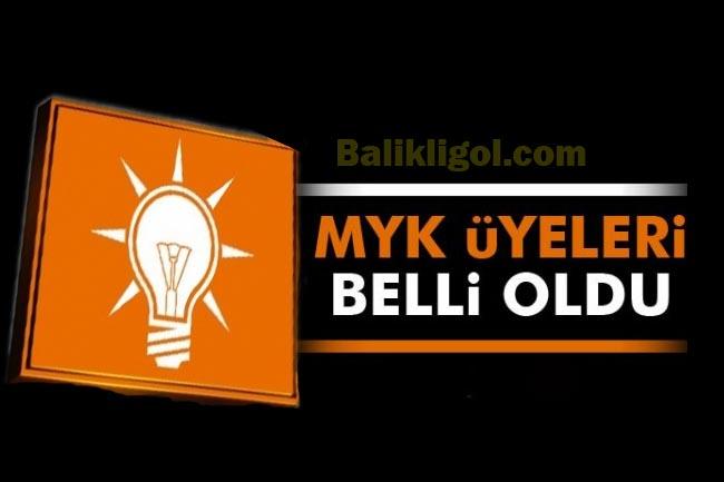 Ak parti MYK'da kimler var? Yıldırım MYK'yı açıkladı!..