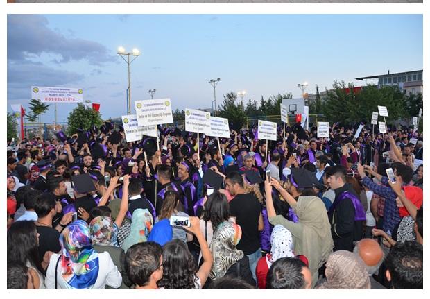 Şanlıurfa Sosyal Bilimler Meslek Yüksekokulu Mezuniyet Töreni