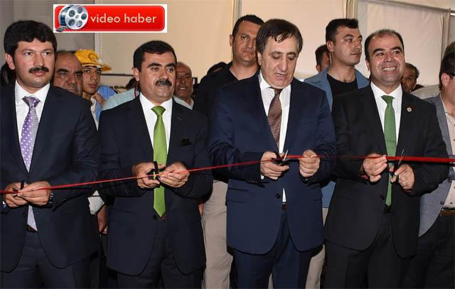 Şanlıurfa 1. Mesleki ve Teknik Eğitim Fuarı açıldı