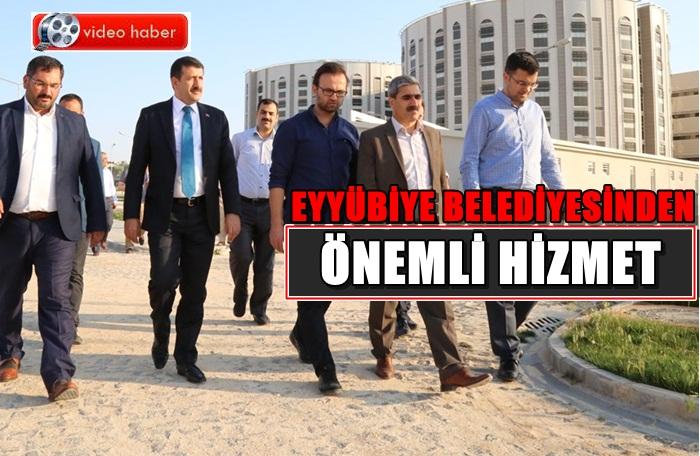 Eyyübiye Devlet Hastanesine misafirhane yapılacak