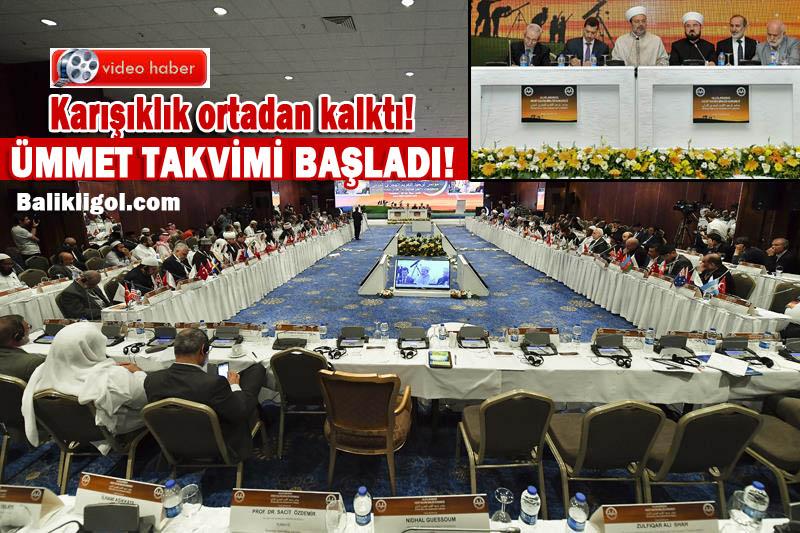 Hicri Takvimde birlik kararı çıktı! İslam birliğine adım adım