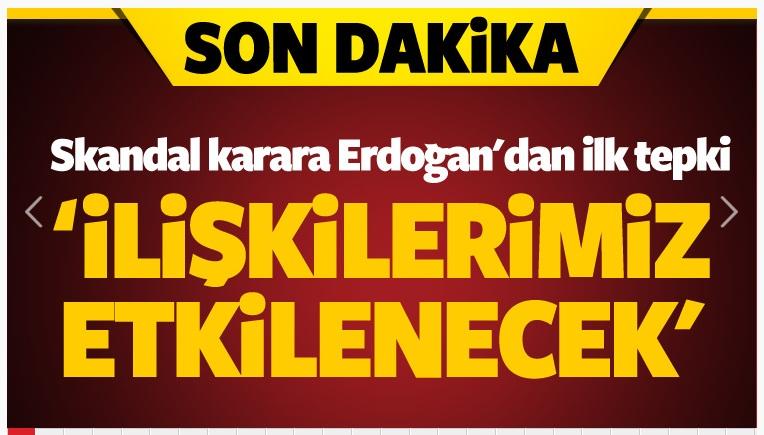Soykırım yasasına Erdoğan'dan ilk yorum