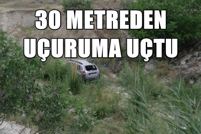 Urfa'da Araç şarampole yuvarlandı: 1'i ağır 4 yaralı