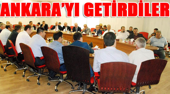 Şanlıurfalı iş adamları Ankaralı işadamlarını ağırladı