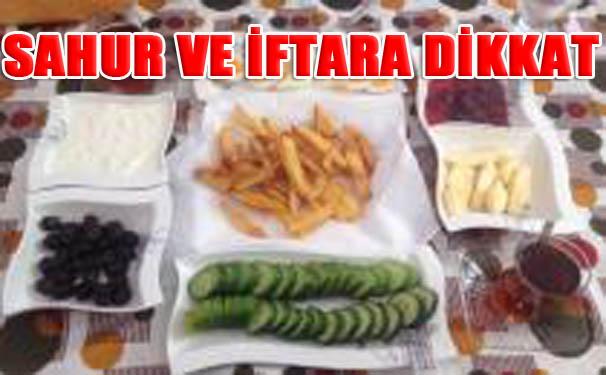 Sağlık Bakanlığı Ramazan için uyarıda bulundu