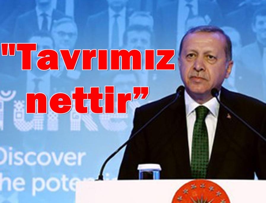 """Erdoğan Sert Çıktı:""""Ermeni Meselesini şantaj aracı olarak kullanıyorlar"""""""
