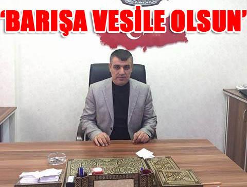 Atmanoğlu; Ramazan huzura vesile olsun