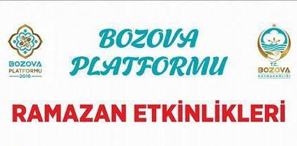 Bozova Platformu 2016 Ramazan Etkinlikleri düzenliyor