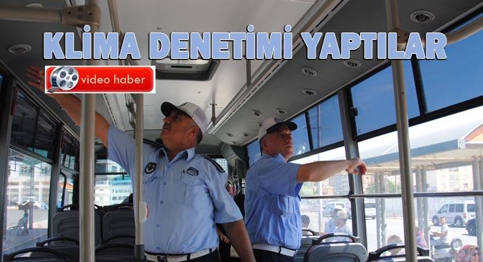 Şanlıurfa'da Zabıta Toplu Taşıma araçlarını denetledi
