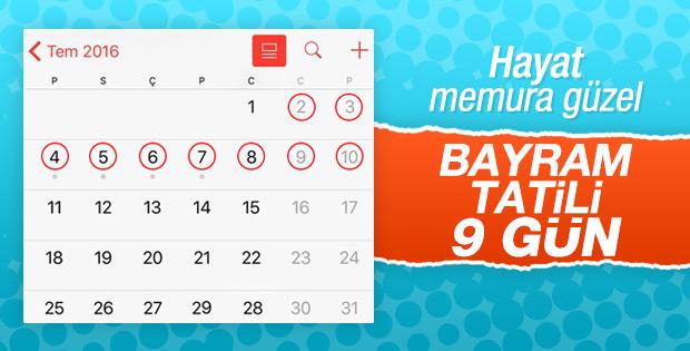 Bayram tatili için karar verildi! Kaç gün olacak?
