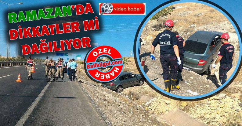 Şanlıurfa Organize Sanayi Yolunda Kaza: 3 Yaralı