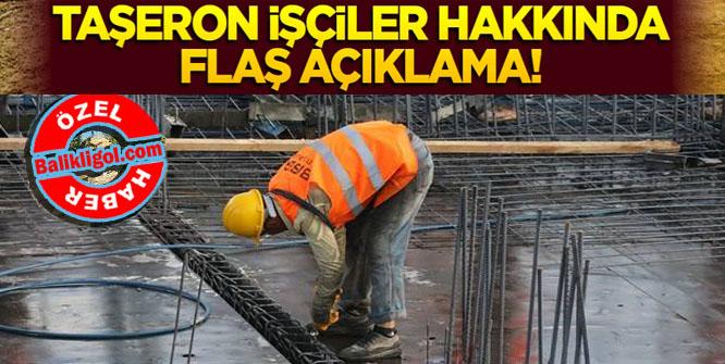 Maliye Bakanı Ağbal'dan flaş taşeron işçi açıklaması