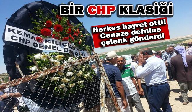 Kılıçdaroğlu Urfa'daki Cenaze defnine çelenk gönderdi