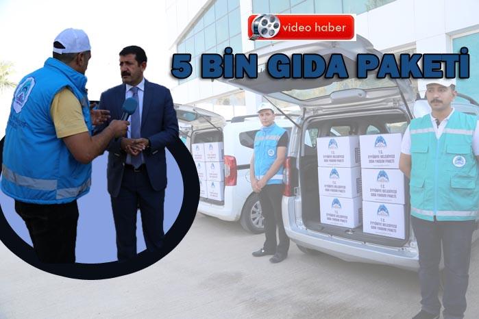 Eyyübiye Belediyesi Binlerce Yardım Paketi Dağıttı