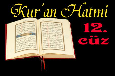 Kabe imamlarından Kur'anı Kerim hatmi-12. cüz izle