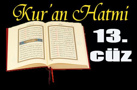 Kabe imamlarından Kur'anı Kerim hatmi 13. cüz izle