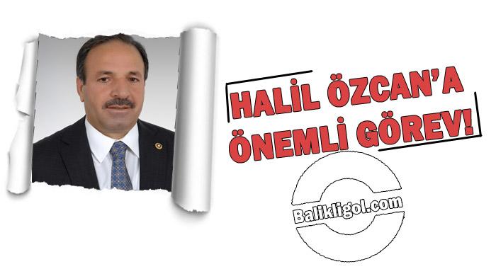 Özcan'a Dış İlişkiler görevi verildi-Halil Özcan Kimdir?