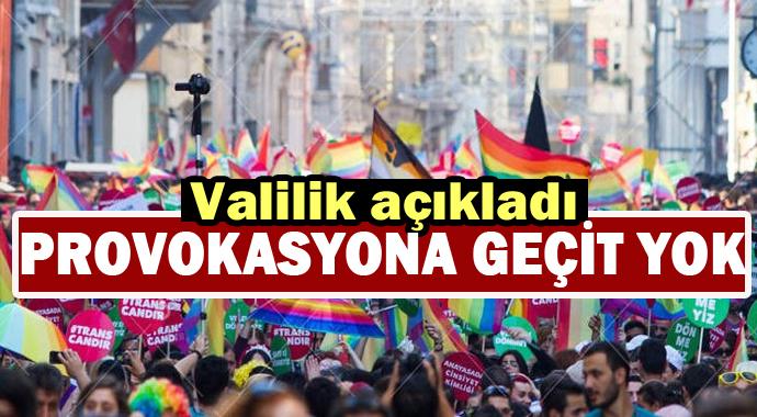 İstanbul Valilinden LGBT yürüyüşü ile ilgili flaş karar