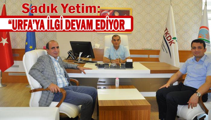 Urfa Vali Yardımcısından TKDK'ya Ziyaret