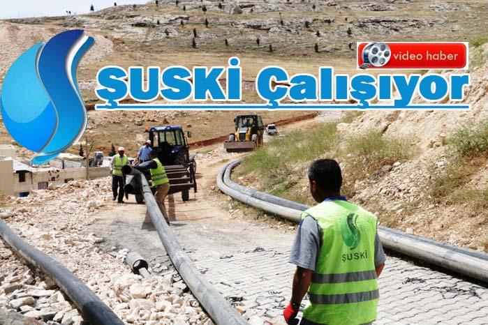 Urfa'da 6 Ayda 50 Bin Metrelik İçme Suyu Hattı Döşendi