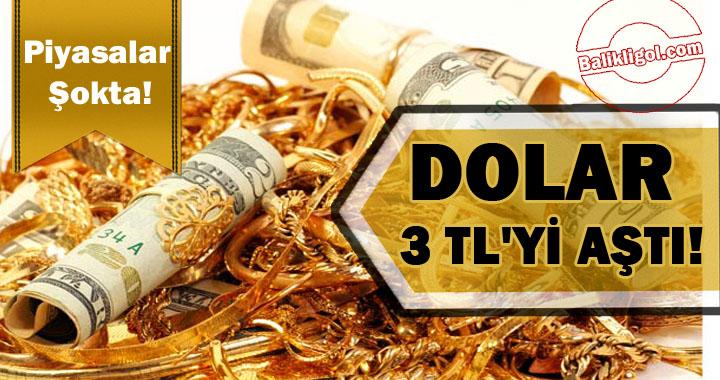 Piyasalar Şokta! Dolar ne kadar oldu? Altın rekora koşuyor