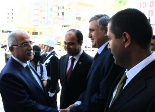 Vali Güngör Azim Tuna Urfa'da göreve başladı