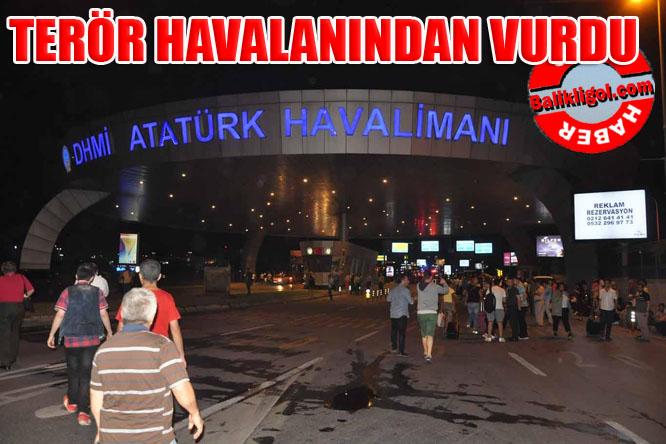 Atatürk Havalimanına terör saldırısı: 31 ölü 147 yaralı