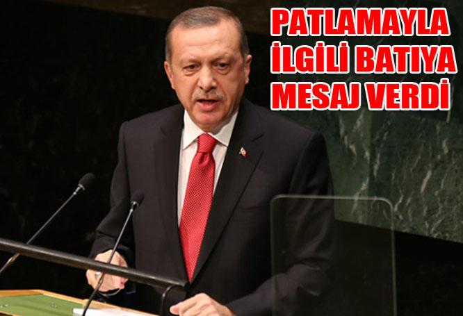 Erdoğan'dan Havaalanındaki terörle ilgili flaş açıklama