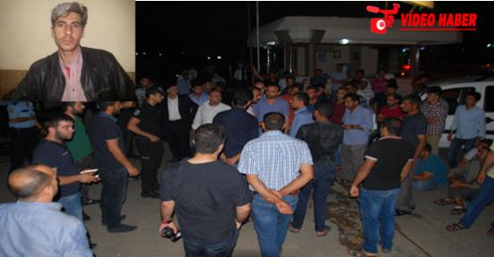 Şanlıurfa'da gece yarısı eylem yaptılar VİDEO