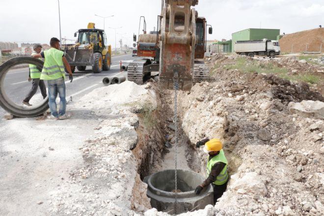 ŞUSKİ'den 6 Ayda 24 km kanalizasyon hattı döşedi