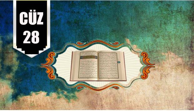 Kur'ân-ı Kerim hatmi 28. Cüz-izle