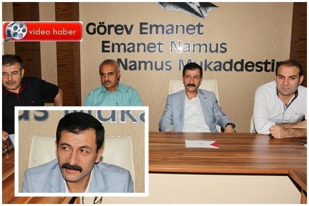 Karaköprü Belediyespor'un yeni başkanı Mehmet Kudat oldu