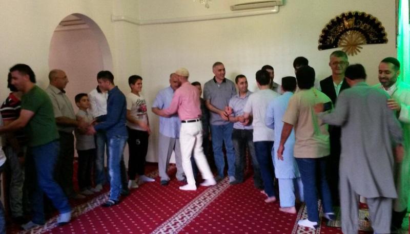 İtalya'da Müslüman gençlerin bayram sevinci
