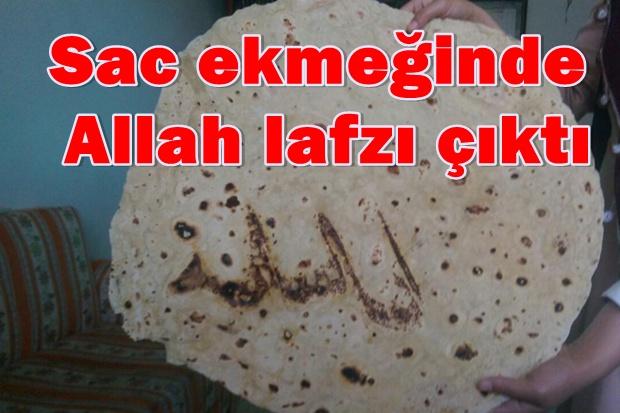 Allah lafzı görenleri şaşırttı